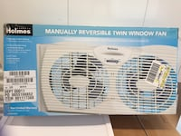 Twin window fan by holmes San Jose, 95128