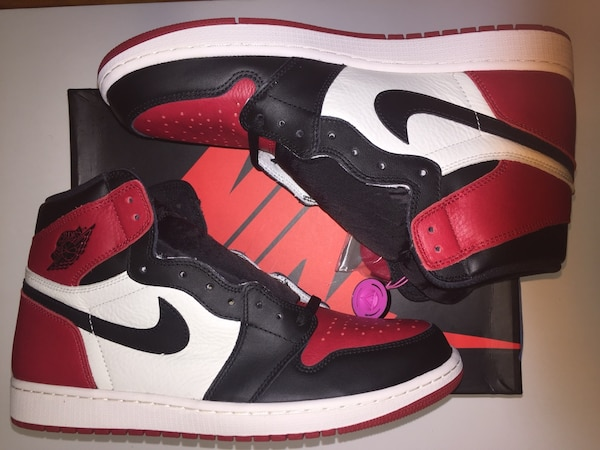 ab47dacd92b5 Used Air Jordan 1 Bred Toes 10 12.5 13 for sale in New York - letgo