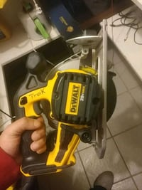 yellow and black DEWALT corded power tool Houston, 77096