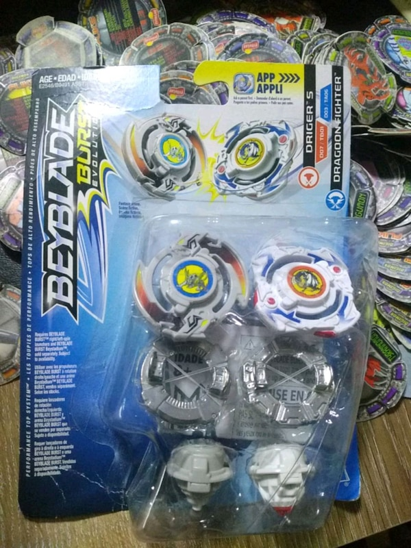 Used Beyblade Burst Hasbro Driger S Dragoon F For Sale In Osmanağa