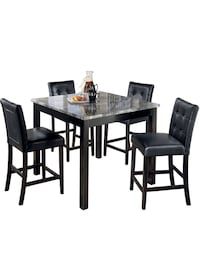 Brand New Table & 4 Chairs on Sale @ Alex Furniture! New York, 11435