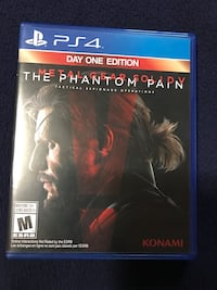 METAL GEAR SOLID V | THE PHANTOM PAIN | DAY ONE EDITION PS4 Clifton