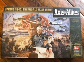 Axis & Allies 1942 Board Game 1st Edition