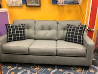 New Grey Sleeper Sofa w/ Queen Size Mattress  Virginia Beach, 23462