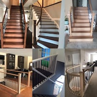 Stairs and Handrail Waterdown