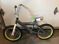Gray and green bmx bike Mansfield, 02048