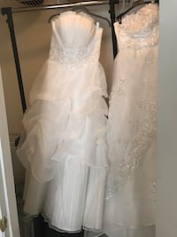 Women's white floral wedding dress Fuquay Varina, 27526