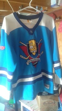 Official The Simpsons Springfield Hockey Jersey XL Cambridge, N1S 4X2