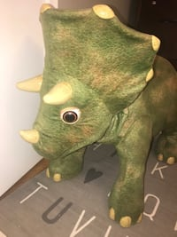 """Playskool Kota My Triceratops Dinosaur Animatronic Life-Sized 3ft. Tall  Very collectible and hard to find! Excellent condition!  Smoke and pet free home.   Animatronic, life-size baby dinosaur stands over 3 feet tall and comes to """"life"""" with realistic so Toronto"""