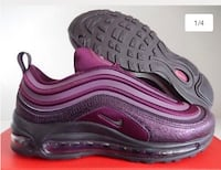 Pair of purple nike air max shoes Alexandria, 22304