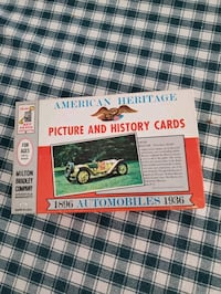 Vintage American Heritage picture and history cards St. Peters, 63376