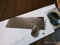 Brand new insignia wireless keyboard and mouse for