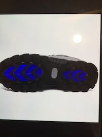 unpaired black and blue Nike basketball shoe Richmond Hill, L4C 9N5