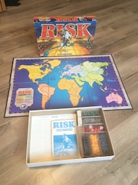 Risk Board Game. Like New! $8 firm
