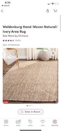 Jute brand new rug - 11' x 15' Boston, 02111