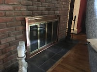 Bifold Glass Door for wood burning fireplace Northport, 11768
