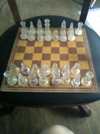 Incomplete chess set