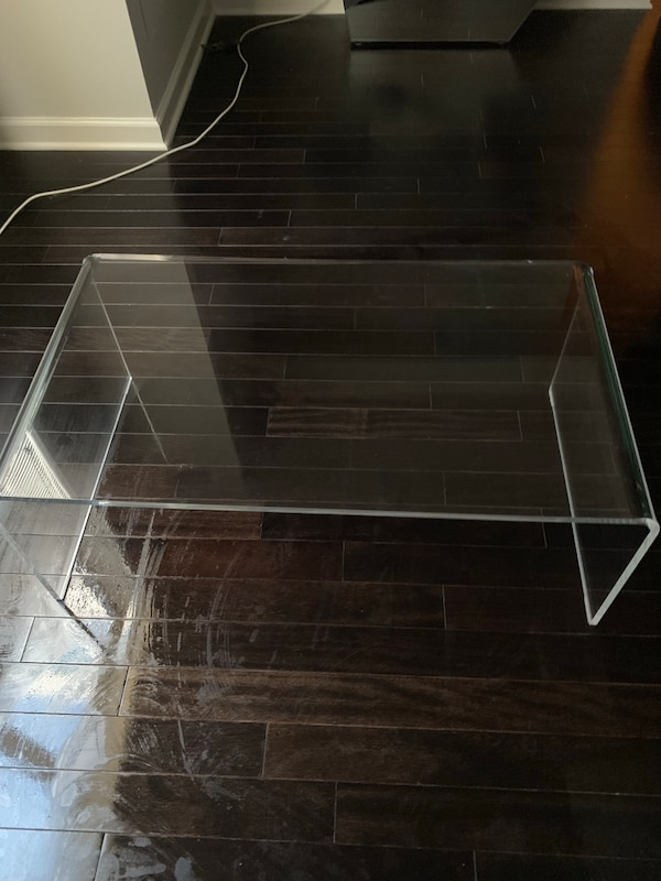 Astonishing Cb2 Peekaboo Acrylic Coffee Table Unemploymentrelief Wooden Chair Designs For Living Room Unemploymentrelieforg