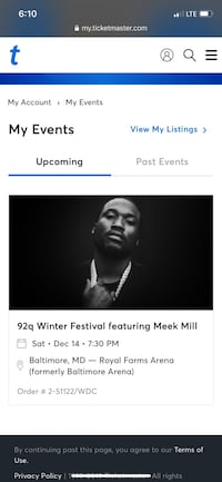 92Q Winter Jam Tickets: Megan & Meek. Saturday 12/14