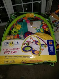 Carters's butterfly activity gym playmat