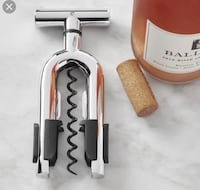 Brand new in box All Clad corkscrew  Crate and barrel Toronto, M9C 1B8