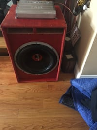 """15"""" subwoofer with amp New York, 11354"""