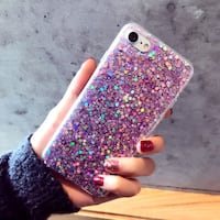 Purple Glitter Case Cover $5 San Diego