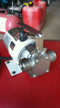 Small electric water pump.