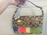 Coach purse small multi color Oldsmar, 34677