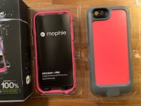 iPhone 6/6S case with battery back up Burnaby, V5G 1W7