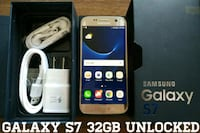 Galaxy S7 UNLOCKED 32GB (Like New)  Arlington