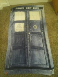 Tardis Towel (from the show doctor who) Gladstone, 97027