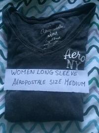 Grey Aeropostale long sleeve shirt