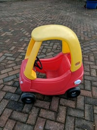 toddler's red and yellow Little Tikes cozy coupe Church Fenton, LS24 9US
