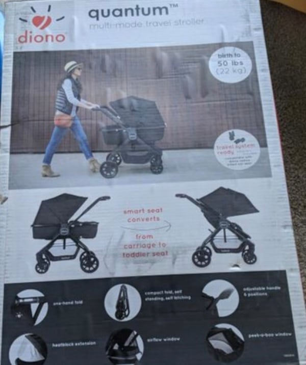 Baby stroller Diono  3