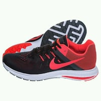 Nike Zoom Winflo 2 Men Black Red White Elliniko, 167 77