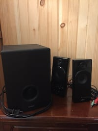 Insignia Speakers w/ Subwoofer 3- Piece  New York, 11372