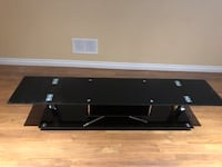 Black and chrome tv stand - need gone ASAP Aurora, L4G 5H9