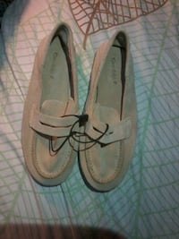 pair of brown penny loafers Mississauga, L5B 1H7