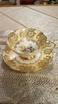 Antique Royal Stafford England Tea Cup/saucer Barrie, L4N 6C3