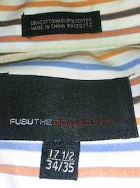FUBU Collection Collared Button Up Dress Shirt
