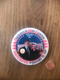 Authentic 1997 Clinton Inauguration Buttons  Mahopac, 10541
