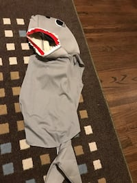 Toddler shark costume  Calgary, T2A 1Y3