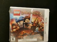 Lego lord of the rings sealed 3ds Langley, V2Y 2Z2