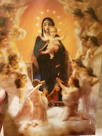 Blessed Mary Baby Jesus & angel 3d picture Essex, 21221