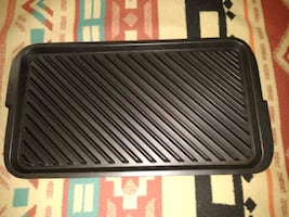 Cast Iron Stove Top Grill