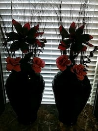 red and black artificial flowers Springfield, 31329