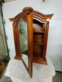 brown wooden framed mirror with mirror Bay Shore, 11706