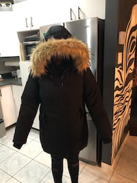 Black and brown fur jacket Laval, H7R 5X1