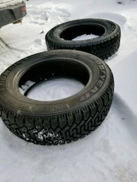 2 Good year Winters tires
